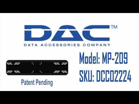 DAC Dual Monitor Arm Adaptor