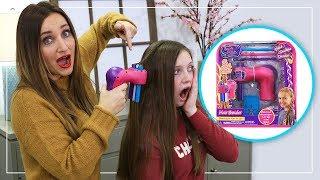 Does the Hair Braider Actually Work? | Toy Braider Fab or Fail | Cute Girls Hairstyles
