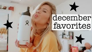 december favorites | music, fashion, lifestyle products