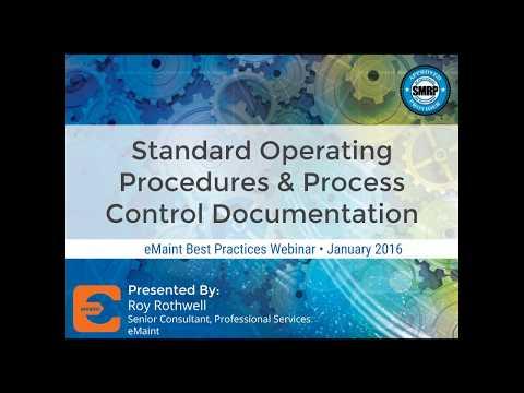 Best Practices Webinar: Workflow Processes Development and SOPs