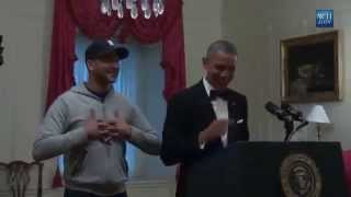 Watch Obama rehearse with his 'anger translator' Luther