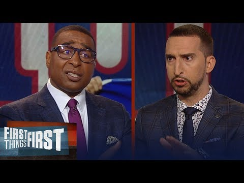 Cris Carter reacts to the Giants drafting Daniel Jones over Haskins | NFL | FIRST THINGS FIRST