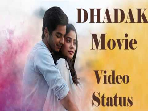 Dhadak Whatsapp Video Status Download - Jhanvi and Ishaan Movie Video Songs