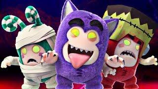 Oddbods   PARTY MONSTERS - Full Episode   Halloween Cartoons For Kids