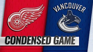 01/20/19 Condensed Game: Red Wings @ Canucks