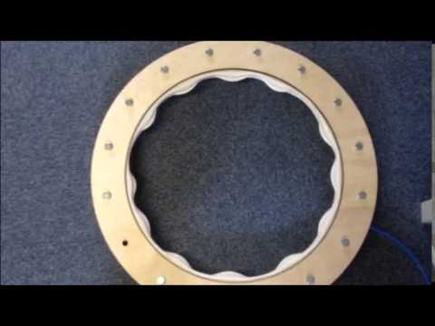 Sealing projex Iso-Flate Inflatable seal testing montage