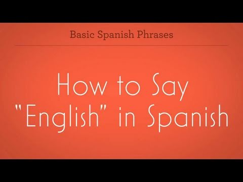 how to say may in spanish