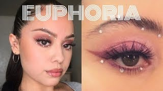 MADDY EUPHORIA MAKEUP TUTORIAL | Just Nicole