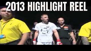 Danny Mitchell NEW MMA HL Reel 2013 'The Cheesecake Assassin'