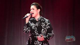 """Lea Salonga (voice of Mulan) performs """"Reflection"""" at the 2011 D23 Expo"""