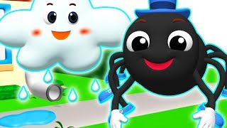 Itsy Bitsy Spider | Learn Colors & ABC Song +More Nursery Rhymes & Kids Songs for Children