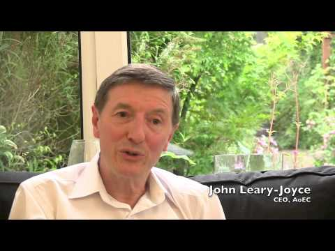 John Leary-Joyce talks about the EMCC Conference