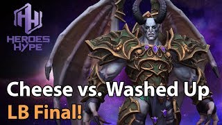 ► Heroes of the Storm: Team Cheese vs. Washed Up - Loser Bracket Final