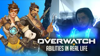 OVERWATCH ABILITIES in REAL LIFE!