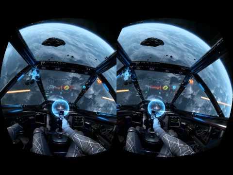 Star citizen on oculus rift w/joystick