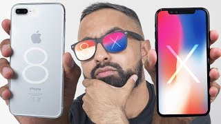 iPhone X vs iPhone 8 Plus - Which should you buy?