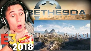 TODD YOU BEAUTIFUL S.O.B!!| #E3 Elder Scrolls VI {NEARLY CHOKED} REACTION!!