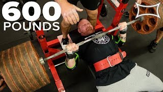 Big Boy Benchin' - Steve Gentili Makes 600lbs Look Easy!