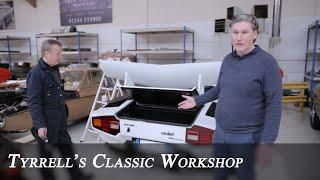 Lamborghini Restorations Part 2 | Tyrrell's Classic Workshop