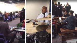 Praise!! Glenn Gibson Jr on Organ