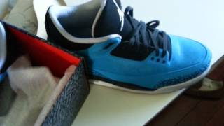 Air Jordan 3 Powder Blue Official Review @iamkickz.com