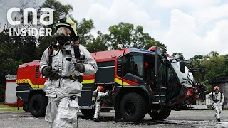 How Changi Airport's Firefighters Deal With A Plane Emergency