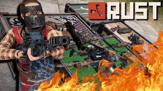 BURNING The Loot We RAIDED FOR! | Rust