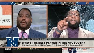 ESPN FIRST TAKE   Who's the best player in the NFC South?