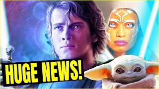 STAR WARS NEWS! Ahsoka Mando Teaser & Hayden Anakin Doing THIS?
