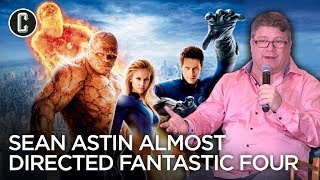Sean Astin Wanted to Direct a Fantastic Four Movie with Christina Aguilera