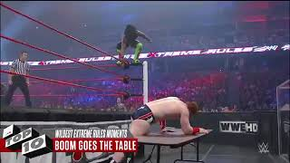 Wildest Extreme Rules Moments  WWE Top 10