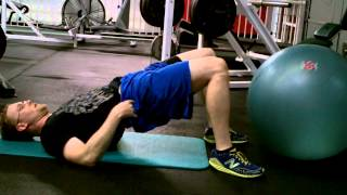 The Ultimate Stability Ball Hamstring Curl Progression Instruction