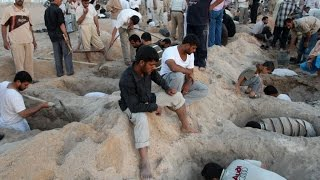 العثور على مقابر جماعية لايزيدين قتلوا على يد تنظيم داعش