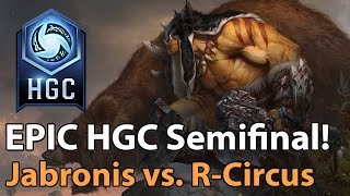 ► EPIC Heroes of the Storm: Russian Circus vs. Jabronis - HGC 2017 Qualifier