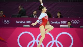 Aliya Mustafina - Floor Music 2012 Olympics (OFFICIAL)