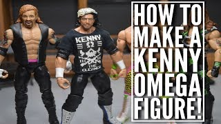 HOW TO MAKE A CUSTOM KENNY OMEGA FIGURE!