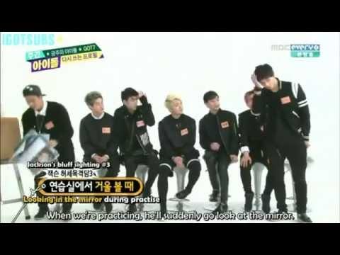 GOT7 Members Imitate Jackson So Funny [141217]Weekly Idol