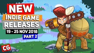 9 Upcoming Indie Game New Releases: 19th – 25th November 2018 – Part 2