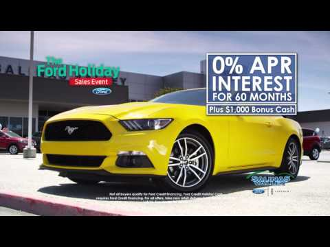Salinas Valley Ford - The Holiday Sales Event