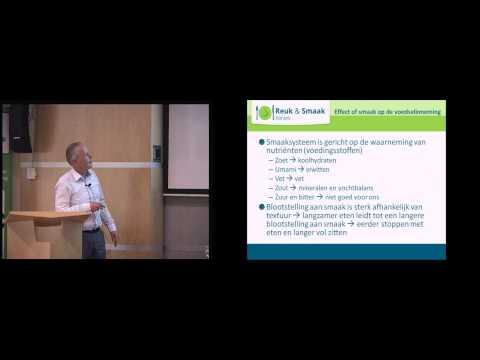 Prof Kees de Graaf tijdens Food for Thought wetenschapsavond