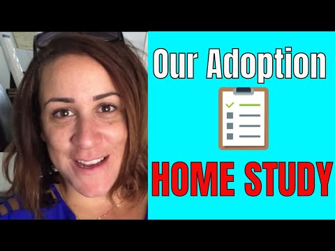 OUR ADOPTION HOME STUDY   FOSTER TO ADOPT HOME STUDY PREP   DITL of a foster mom