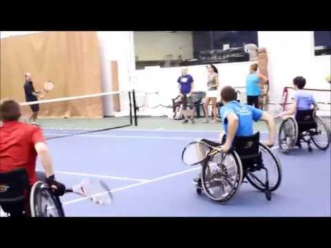 Push to Walk Summer Boot Camp- Adaptive Tennis
