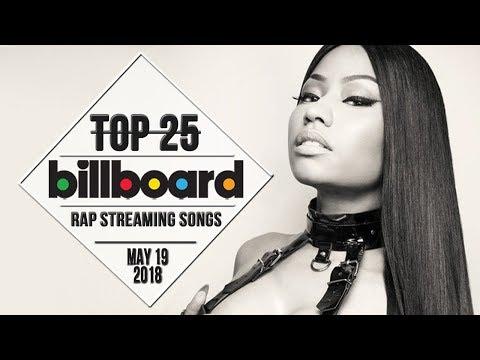 Top 25 • Billboard Rap Songs • May 19, 2018 | Streaming-Charts