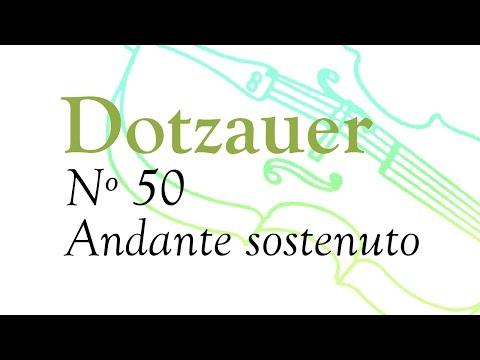 Nº 50 - F. Dotzauer método para violoncello (Volumen 1)
