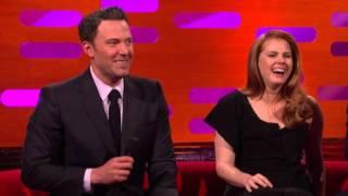 Ben Affleck and Henry Cavill do their Batman voices