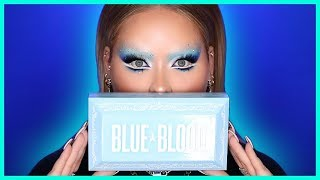 Trying The BLUE BLOOD Collection by Jeffree Star!
