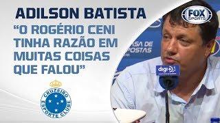 CRUZEIRO PERDE PARA O GRÊMIO FORA! Adílson Batista fala ao vivo na Raposa