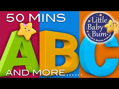 ABC Song | ABC Songs and More Nursery Rhymes! | 51 Minutes! | 3D Animations in HD