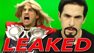Avengers: Age of Ultron LEAKED FOOTAGE