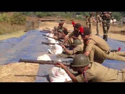 NCC firing by 2 Maharashtra Engineer Regiment IIT Bombay cadets